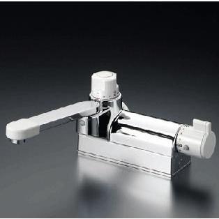 混合栓 KVK KM298ZG お湯ぴた デッキ形定量止水付サーモスタット式混合栓 寒冷地用