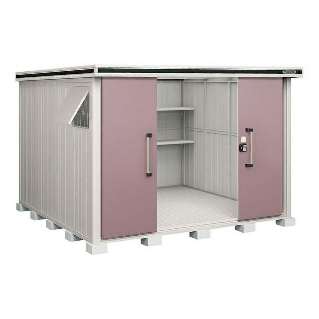 ヨド物置 エルモ LMD-2929 間口2m92cm ×奥行2m92cm 標準高タイプ 一般型 引き分け戸タイプ [♪▲]