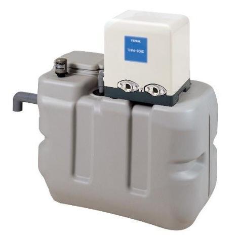 テラル RMB10-25PG-408AS-6 受水槽付水道加圧装置(PG-AS) 1Φ100V (60Hz用) [♪◇]