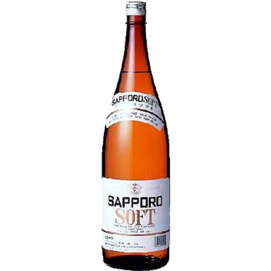 サッポロ ソフト20゜ 1800ml 瓶