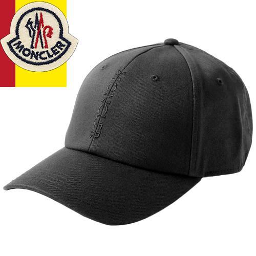 肌触りがいい モンクレール MONCLER キャップ 帽子 3B70310 V0006 999 メンズ レディース ベースボールキャップ ブランド コットン ワッペン トリコロール 大きめ 夏 黒 白, サプライ百貨店 855218f3