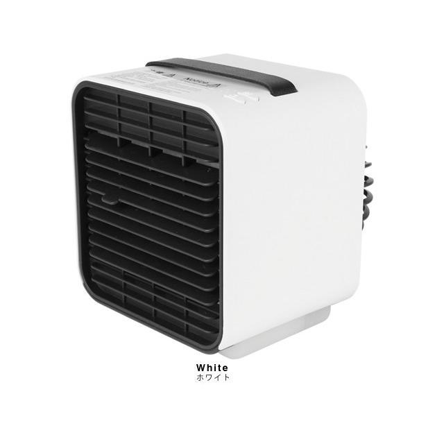 冷風機 おすすめ 小型 卓上 USB 充電式 氷 卓上扇風機 冷風扇 卓上クーラー ミニクーラー ポータブルエアコン ポータブル エアコン 車 クーラー|maido-selection|07