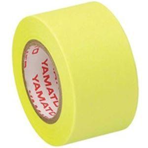 送料無料 (業務用10セット) ヤマト メモックロール替テープ蛍光 WR-25HLE 12個