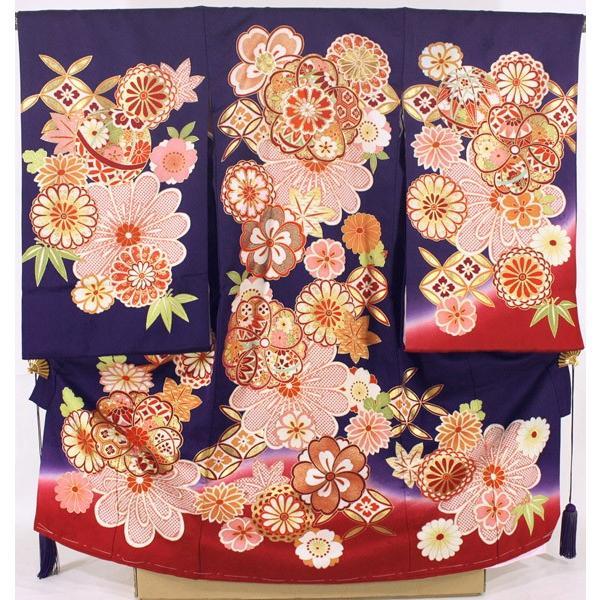 女の子お宮参り着物ysga01 紫