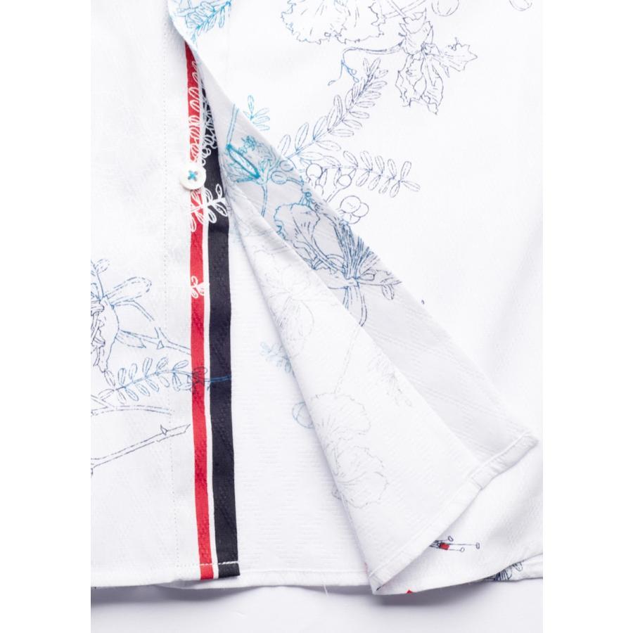かりゆしウェア 沖縄 アロハシャツ MAJUN マジュン かりゆし 結婚式 メンズ半袖シャツボタンダウンハーモナイズスラッシュ|majun|13