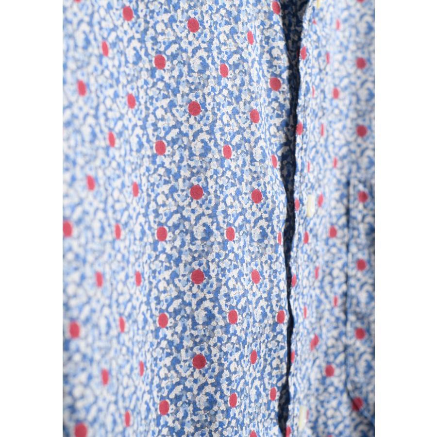 かりゆしウェア 沖縄 アロハシャツ MAJUN マジュン かりゆし 結婚式 メンズ長袖シャツボタンダウン 送料/代引手数料無料 ナンディナペッパーL/S|majun|12