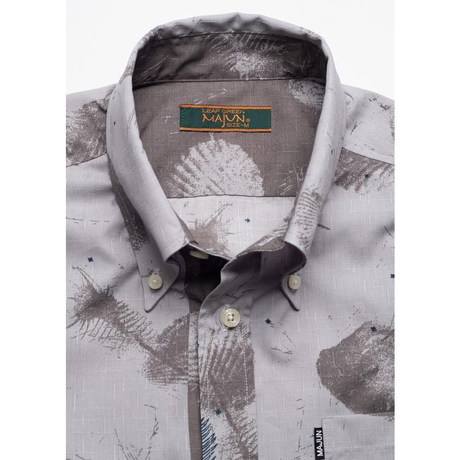 かりゆしウェア シャツ 結婚式 メンズ 半袖 ボタンダウン 大きいサイズ 沖縄 アロハシャツ ギフト プレゼント 国産 スターシェル majun 13