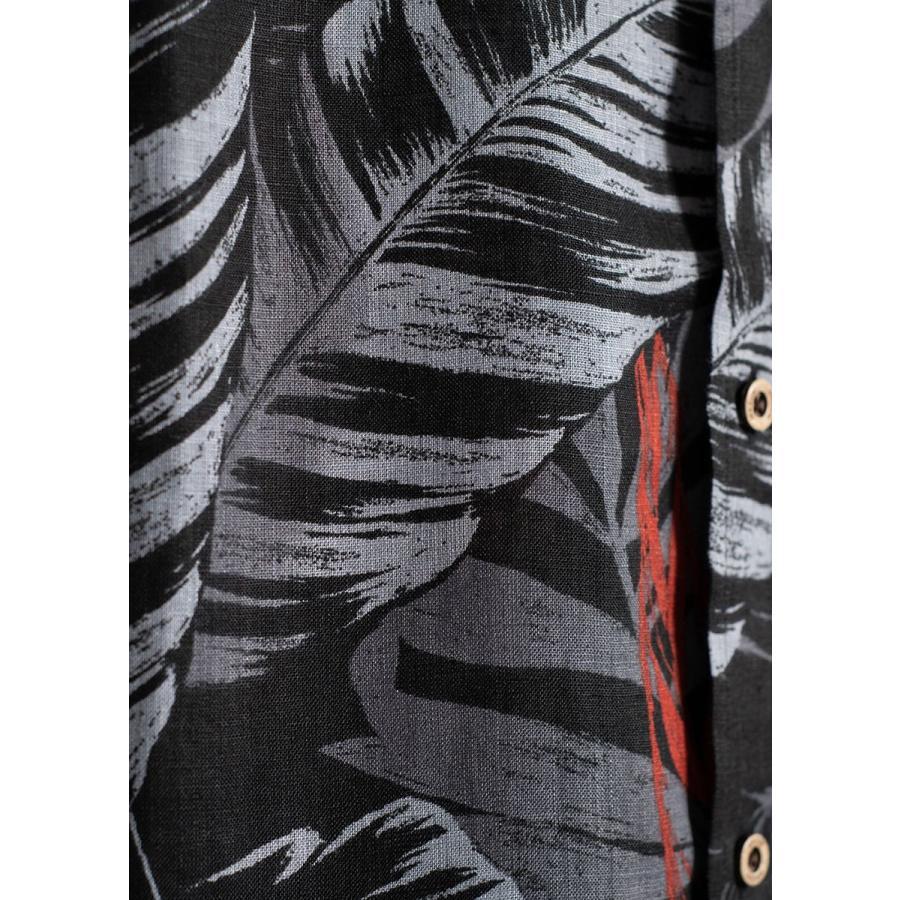 かりゆしウェア シャツ 結婚式 メンズ 半袖 ボタンダウン 大きいサイズ 沖縄 アロハシャツ ギフト プレゼント 国産 コレクトリーフ|majun|17