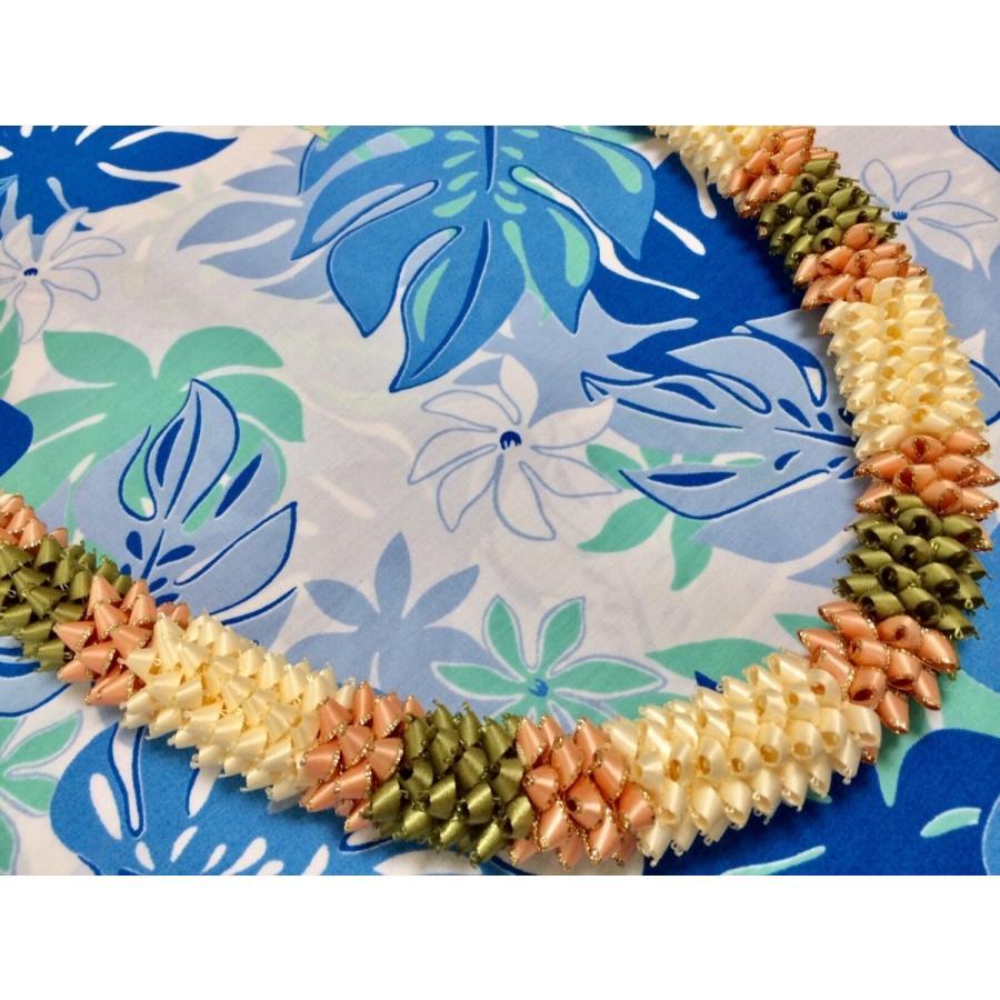 ハワイアンリボンレイ【インストラクターコース初級講座12作品】 makana-aloha 13