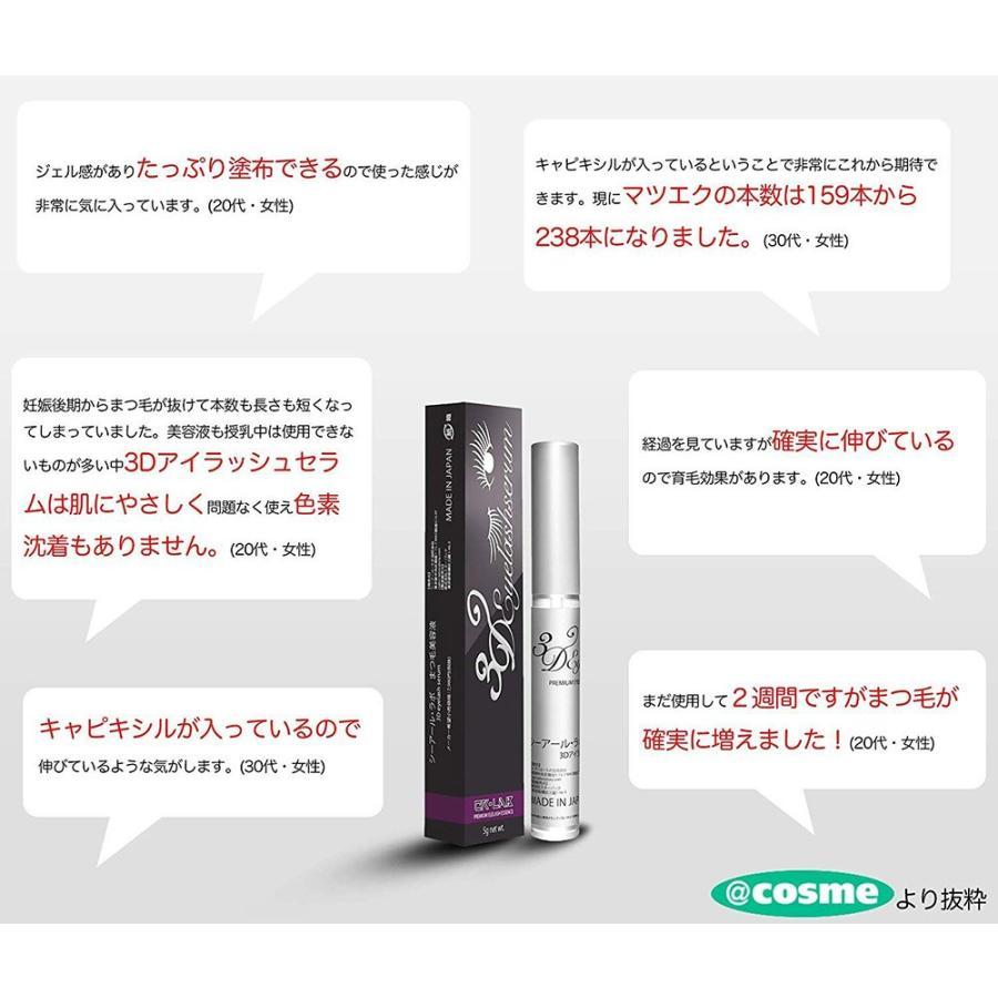まつげ美容液 3Dアイラッシュセラム キャピキシル高濃度配合 日本産 7g CR-lab シーアール・ラボ ネコポス 送料無料|makanainc|04