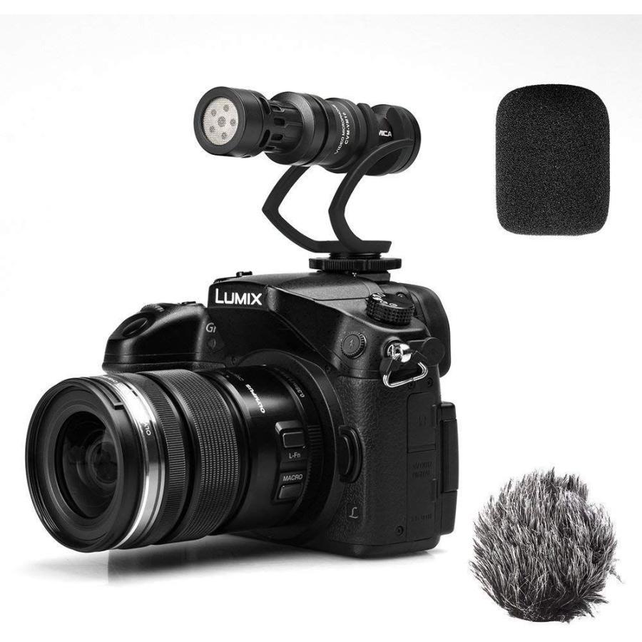 COMICA CVM-VM10II 外付けマイク ショットガンマイク カーディオイド指向性 コンデンサーマイクロフォン スマートフォン Goproやカメラに対応|makanainc|08