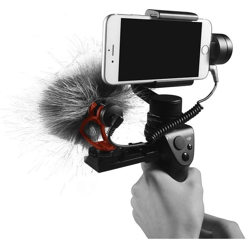 COMICA CVM-VM10II 外付けマイク ショットガンマイク カーディオイド指向性 コンデンサーマイクロフォン スマートフォン Goproやカメラに対応|makanainc|09