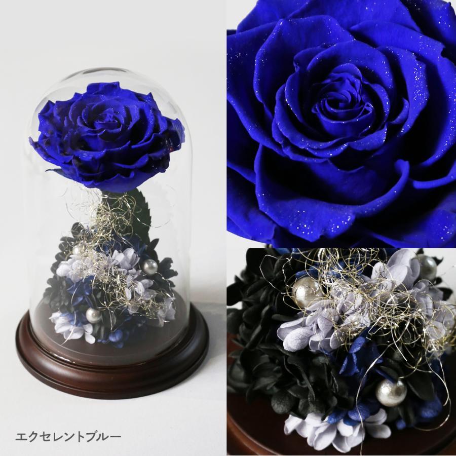 プリザーブドフラワー 花 プレゼント プロポーズ ガラスドーム 薔薇 Princess Fleur|makefuture|11