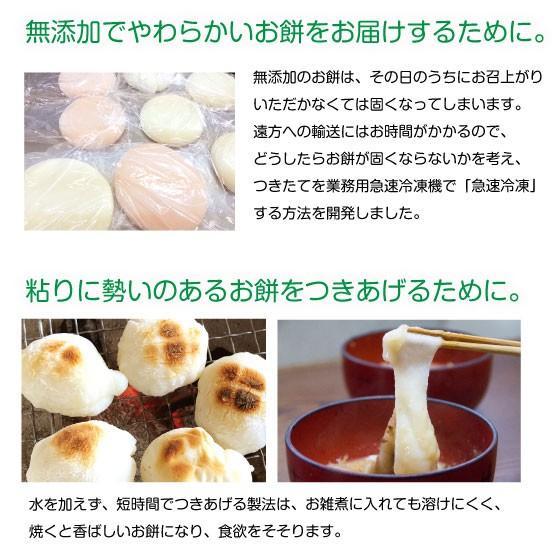 おいしい誕生餅 白のみ1升 わらじ・風呂敷付|makiba-mochi|03