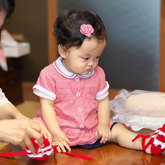 おいしい誕生餅 白のみ1升 わらじ・風呂敷付|makiba-mochi|06