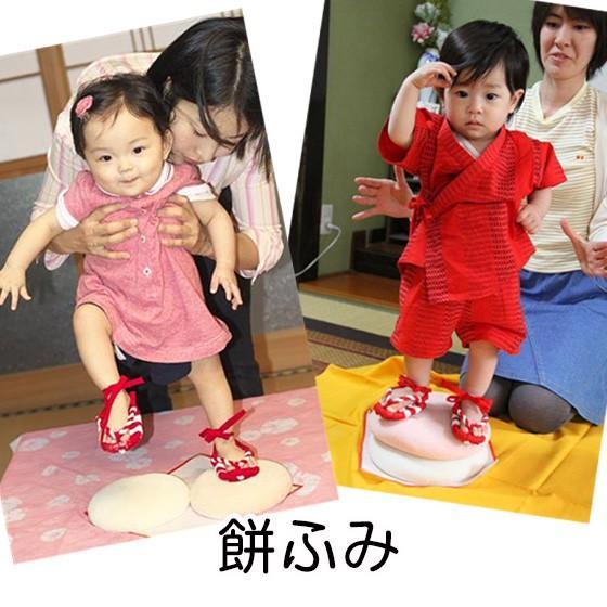 おいしい誕生餅 白のみ1升 わらじ・風呂敷付|makiba-mochi|07