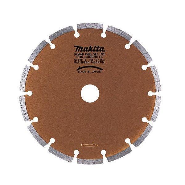 マキタ ダイヤモンドホイール 湿式(セグメントタイプ)205mm A-20448