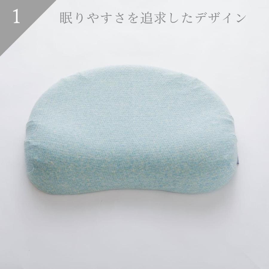 枕 まくら マクラ 男性 ウレタン 日本製 低反発 高い 高め オーガニック|makura|03