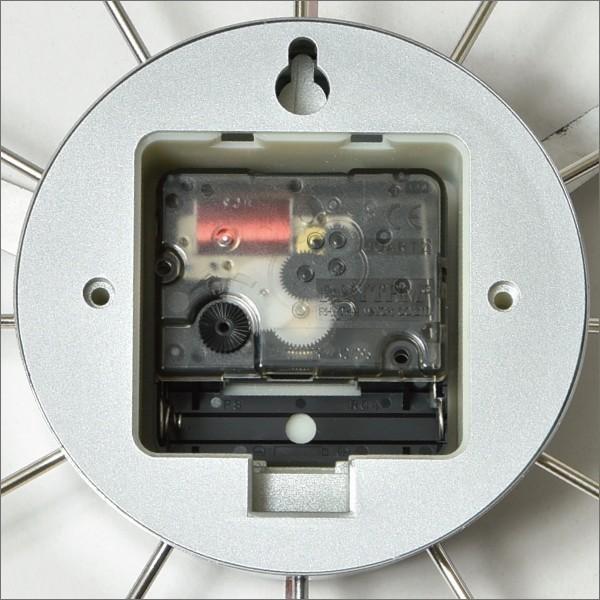 時計 壁掛け時計 おしゃれ オシャレ 北欧 木製 アンティーク調 かけ時計 ブランド リビング シンプル モダン アートワークスタジオ Atras2-clock アトラス2|mamachi|06