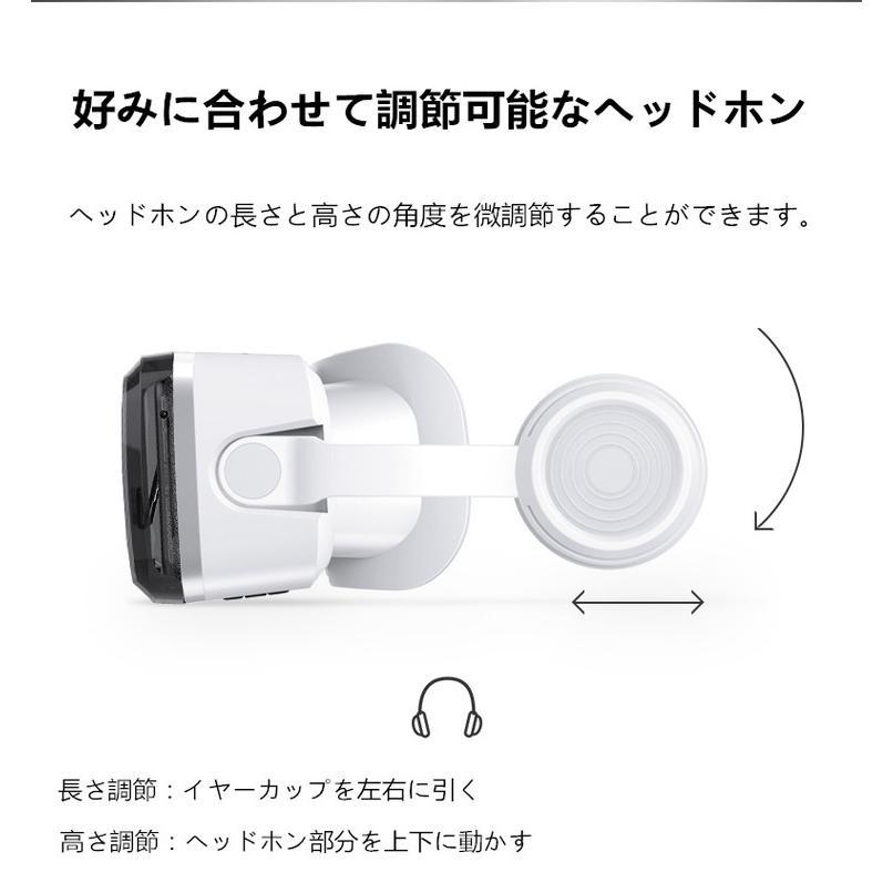 VRゴーグル Bluetooth ヘッドホン付き スマホ用 iPhone Android mamacon 03