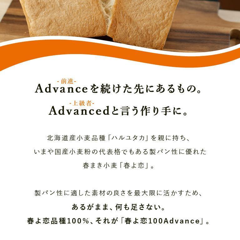 強力粉 春よ恋100 北海道産パン用小麦粉 2.5kg 国産小麦粉|mamapan|04