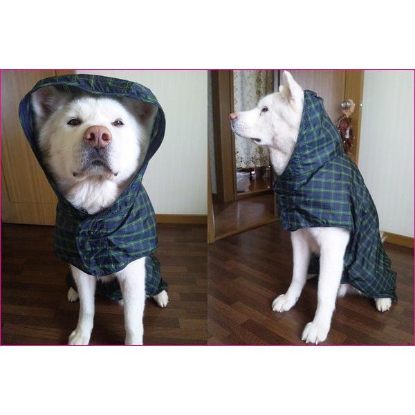 犬のレインコート 日本製! 超大型犬用レインコート(3Lサイズ) バーニーズサイズ  レターパック送料無料(代引き不可)|mamav|06