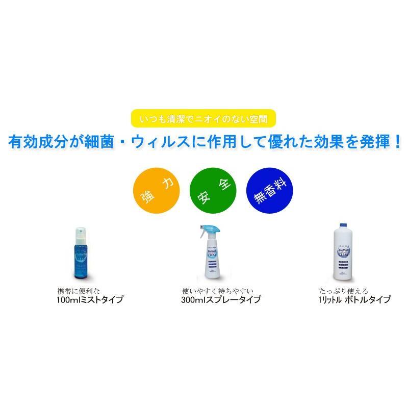 除菌・消臭剤 バイオウィルクリア 1L詰替え用ボトル 送料別 mamav 03