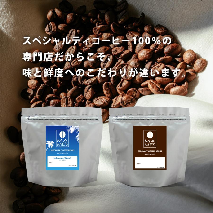 コーヒー豆 コーヒー お試し体験 セット150g 2種 送料無料 季節のブレンドとお好みのスペシャルティコーヒーが選べるセット マメーズ 焙煎工房|mames|02