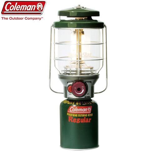 COLEMAN コールマン 2500ノーススターLPガスランタン(グリーン) 〔2018SS キャンプ用品 ランタン ライト ガス〕 (グリーン):2000015520