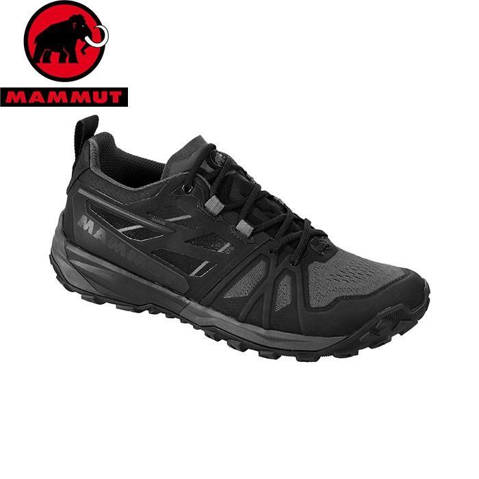 MAMMUT マムート Saentis Low Men メンズ アプローチ シューズ 靴 2019 SS (black-darktitanium):3030-03430