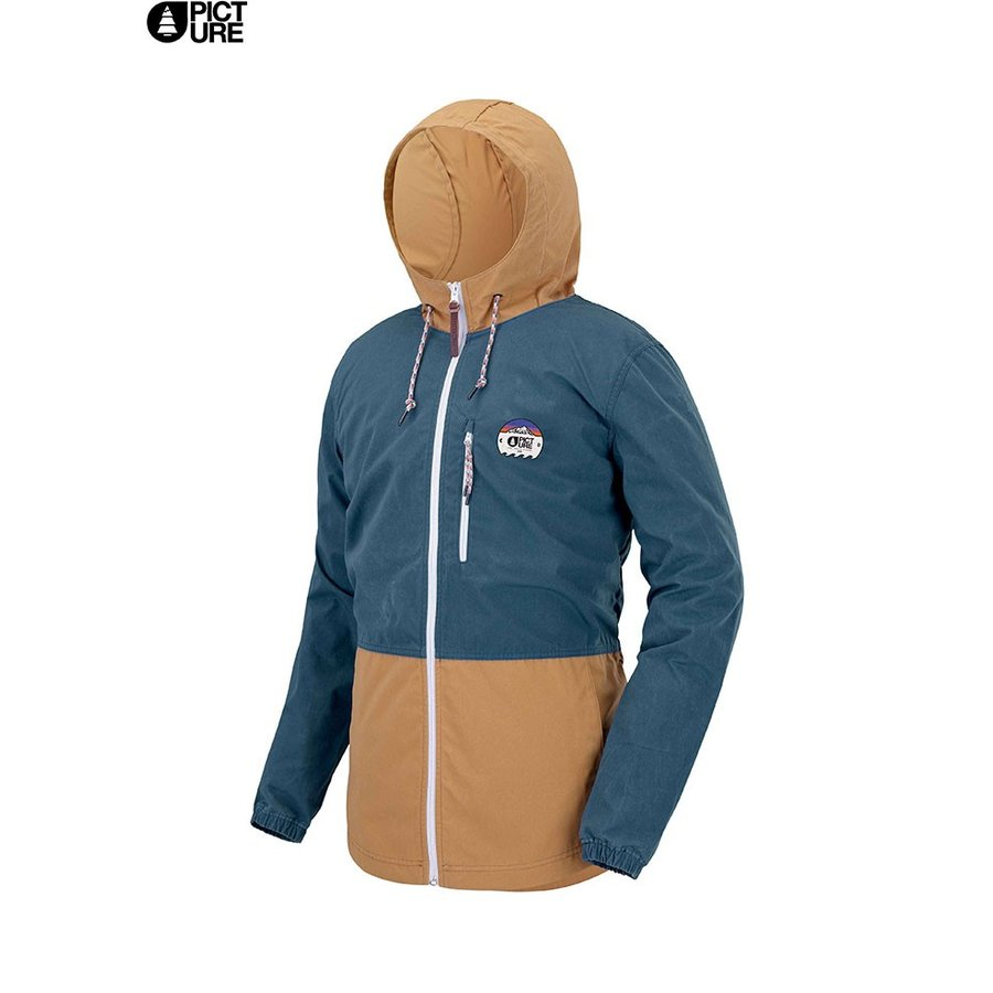 PICTURE ピクチャー SURFACE JKT JACKET ジャケット ウィック (PetrolBlue):MVT232