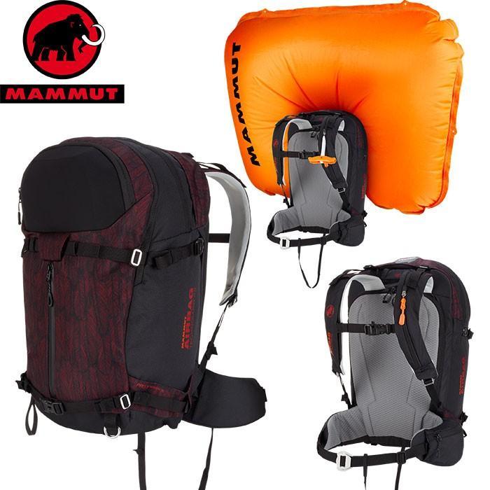 MAMMUT マムート Pro X Women Removable Airbag 3.0 DAYパック スキー用 エアバッグ レディース (scooter-black):2610-01840