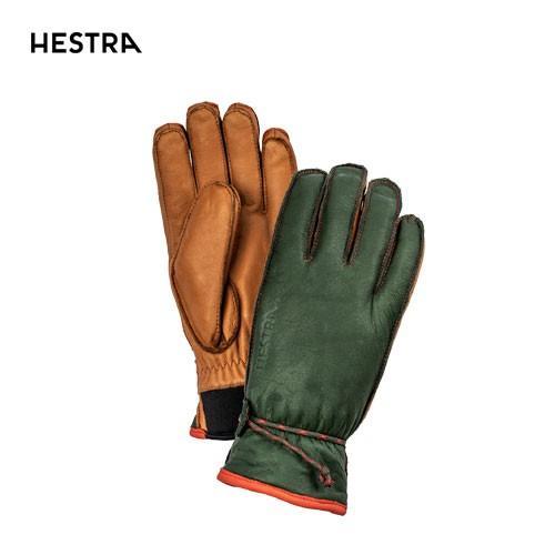 HESTRA ヘストラ 2020モデル WAKAYAMA 30720 ワカヤマ 860710(Forest/Cork) スキーグローブ スノーボード グローブ レザー