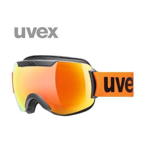 UVEX ウベックス downhill 2000 CV ブラックマット/オレンジ/オレンジ シングルレンズ レース ゴーグル スキー:5501172630