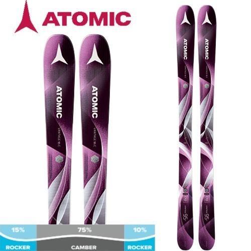 ATOMIC 17-18 アトミック 2018 スキー VANTAGE 95 C W ヴァンテージ95C W (板のみ) レディース オールマウンテン: