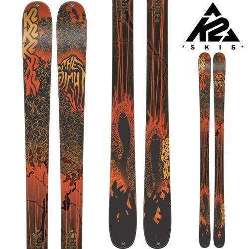 18-19 K2 ケーツー スキー Ski 2019 SIGHT サイト (板のみ) ロッカー オールマウンテン フリーライド フリースタイル: