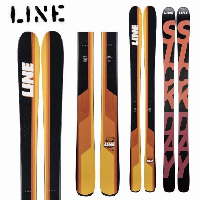 18-19 LINE ライン スキー Ski 2019 SICK DAY 94 シックデイ 94 (板のみ) パウダー ロッカー オールマウンテン: