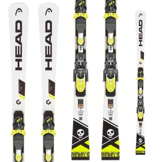 HEAD ヘッド 18-19 スキー Ski 2019 WORLDCUP REBELS I SL (FF EVO14 金具付き) レーシング 基礎小回り: