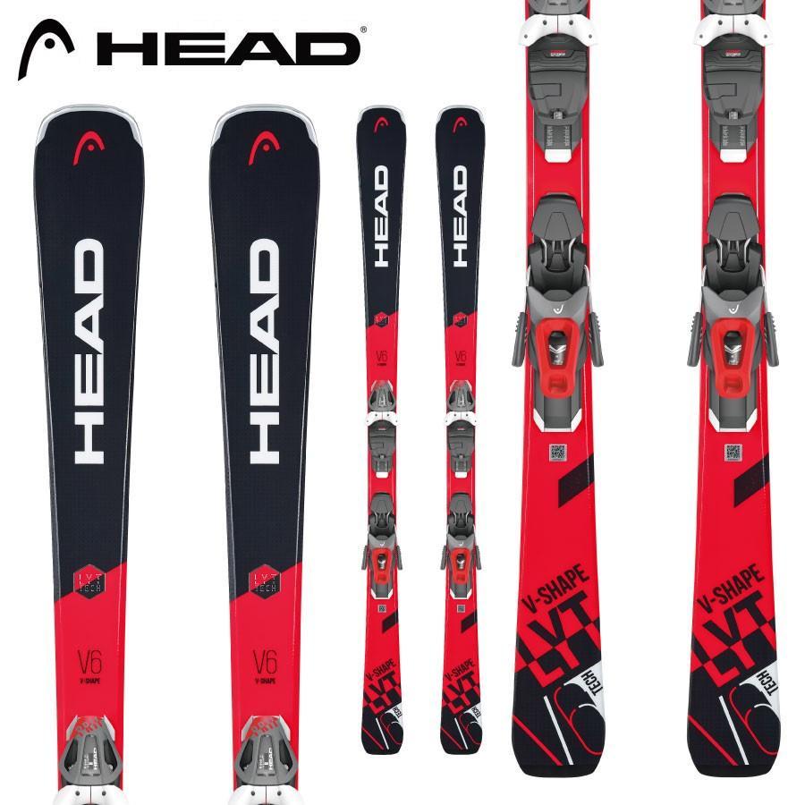 新発売 HEAD ヘッド 18-19 スキー Ski 2019 ブイシェイプ V SHAPE V6 (PR 11 GW 金具付き) 基礎 デモ オールラウンド:, モノルル 1a4d51c6