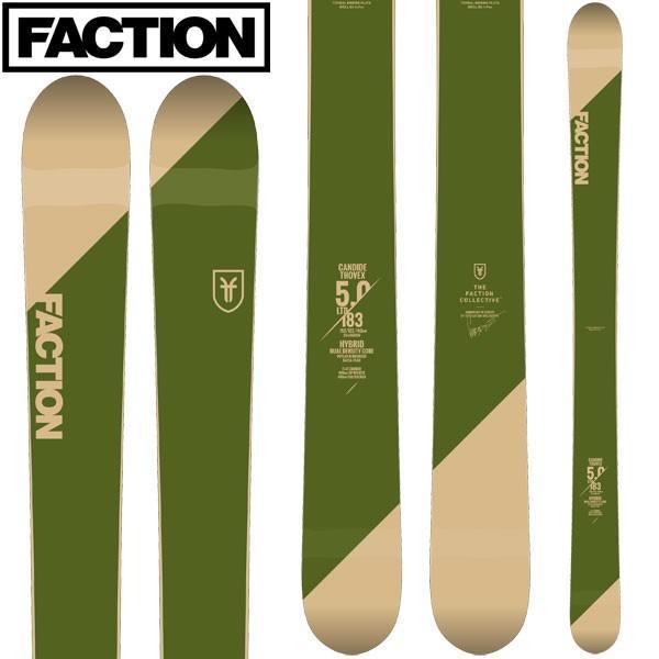 FACTION ファクション 18-19 スキー Ski 2019 CT 5.0 キャンディッド トベックス(板のみ) バックカントリー フリースタイル: