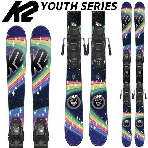 K2 ケーツー 18-19 スキー Ski 2019 MISSY 4.5 FDT JR ミッシー (FDT JR 4.5 金具付き) ジュニア フリーライド オールラウンド: