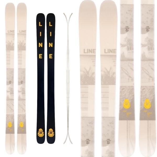 流行 LINE ライン 19-20 スキー HONEY BADGER ハニーバッジャー (板のみ) スキー板 2020 フリースタイル オールマウンテン (onecolor):, 浅野ゴルフサービス 54fad9f0