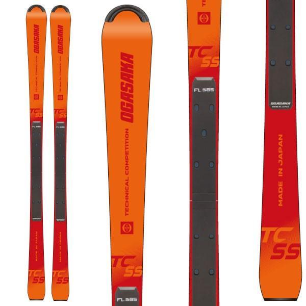 最安 OGASAKA オガサカ 19-20 スキー 2020 TC-SS + FL585 (スキー+プレート) スキー板 デモ ショート (onecolor):, カモウチョウ dc339440