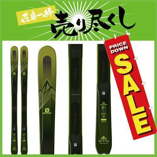 SALOMON サロモン 19-20 スキー 2020 MNT EXPLORE 88 (板のみ) スキー板 オールマウンテン (onecolor):