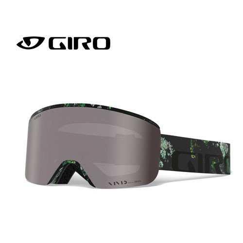 GIRO ジロー 19-20 ゴーグル 2020 AXIS MOSS アクシス スキーゴーグル メンズ 平面 Vividレンズ 眼鏡対応:7105292