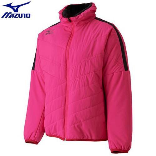 ミズノ MIZUNO ブレスサーモライトウォーマーシャツ[レディース](65)ピンクグロー 62JE770165