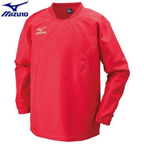 ミズノ MIZUNO タフブレーカーシャツ(ラグビー)[メンズ](62)チャイニーズレッド R2ME600262