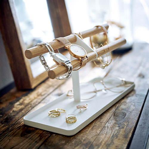 アクセサリー収納 山崎実業  腕時計&アクセサリースタンド トスカ  5170 リビング収納 片付け おしゃれ シンプル すっきり 便利 mamoru-k 04