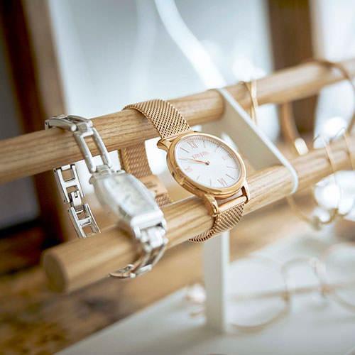 アクセサリー収納 山崎実業  腕時計&アクセサリースタンド トスカ  5170 リビング収納 片付け おしゃれ シンプル すっきり 便利 mamoru-k 06