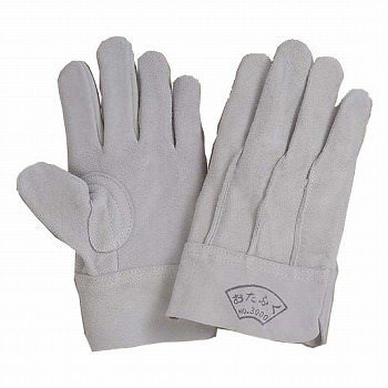 牛床革手袋 おたふく手袋 床革外縫い革手袋 [200双入] 3000 総革製